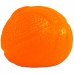 Orange Basketball Splat Back