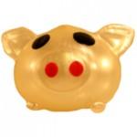 Gold Pig Splat Back