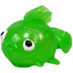 Green Fish Splat Back